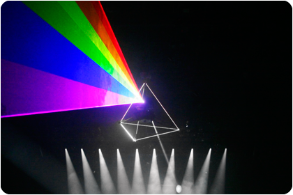 Lightwave International lasers power the Roger Waters tour prism.