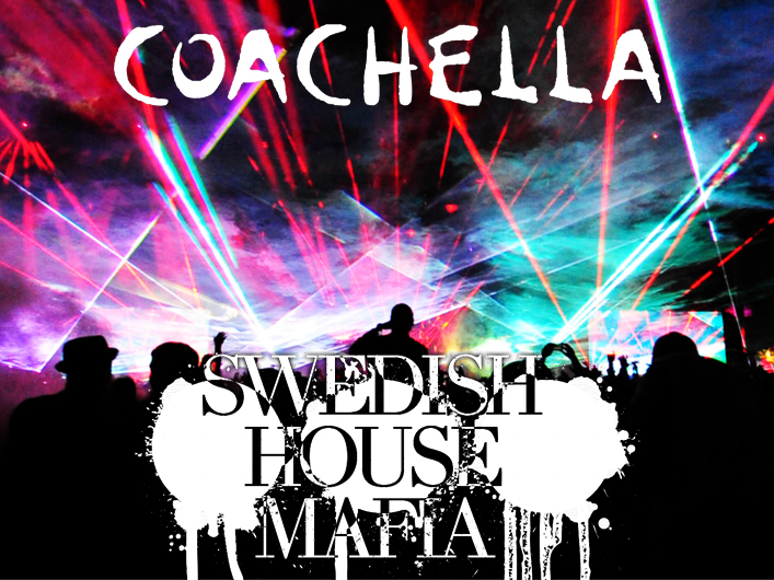 Coachella features lasers from Lightwave International for Sahara Tent and headliners Swedish House Mafia.