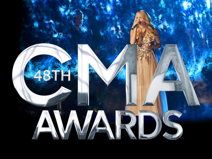 Carrie Underwood's CMA Awards performance punctuated with a 32 foot FogScreen from Lightwave International.